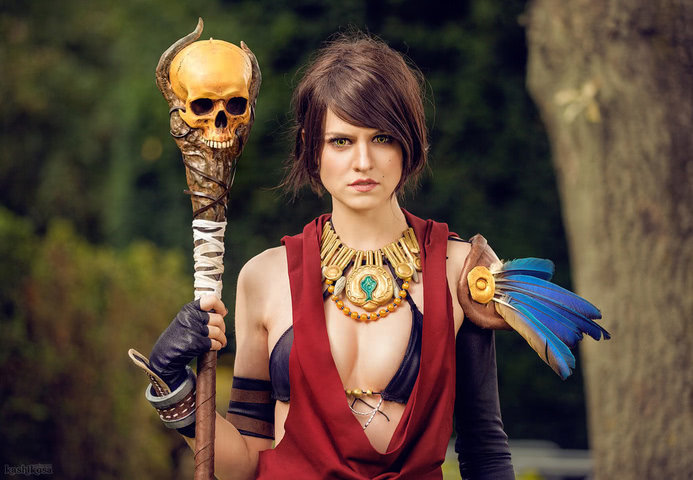 Morrigan by MadameSkunk (Dragon Age Inquisition) cosplay 6