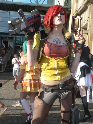 Lilith by MadameSkunk (Borderlands The Pre-Sequel) cosplay 1
