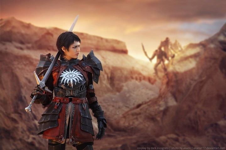 Cassandra Pentaghast by Dark Incognito (Dragon Age II) cosplay 1