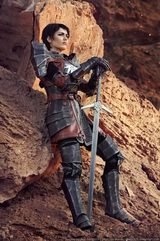 Cassandra Pentaghast by Dark Incognito (Dragon Age II) cosplay 4