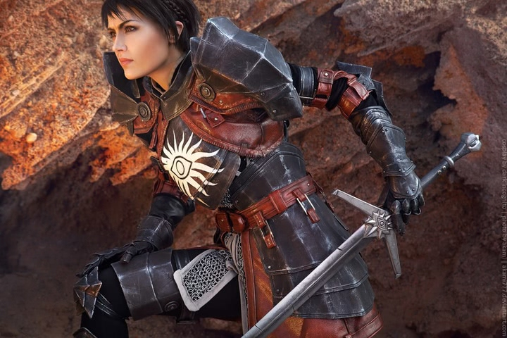 Cassandra Pentaghast by Dark Incognito (Dragon Age II) cosplay 10
