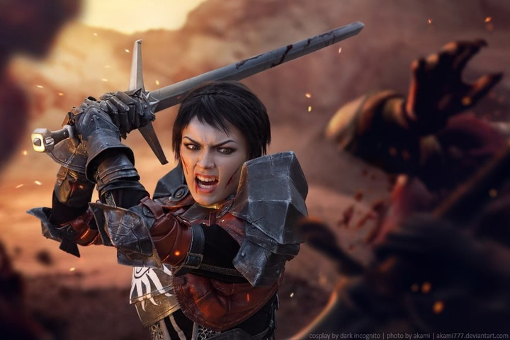 Cassandra Pentaghast by Dark Incognito (Dragon Age II) cosplay 13
