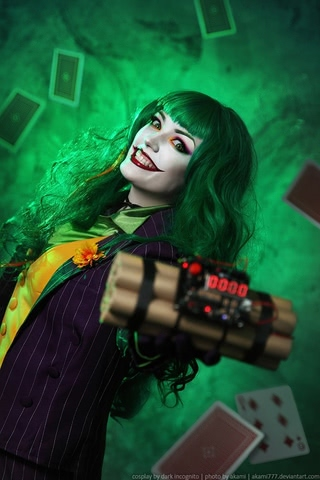 Joker by Dark Incognito (Batman) cosplay 2