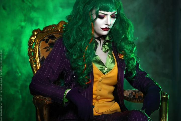 Joker by Dark Incognito (Batman) cosplay 12
