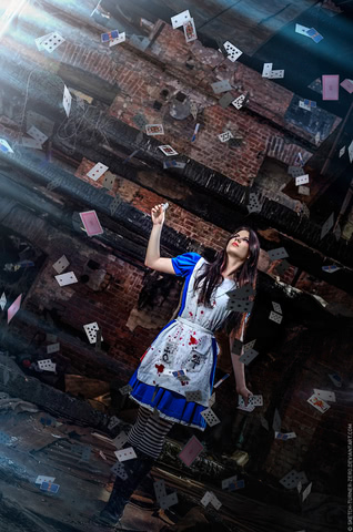 Alice by AnastasyaZelenova (Alice Madness Returns) cosplay 2