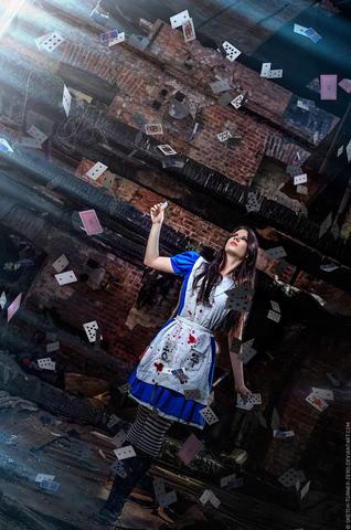 Alice by AnastasyaZelenova (Alice Madness Returns) cosplay 2