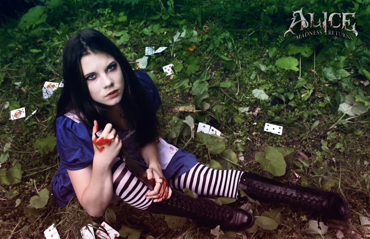 Alice by AnastasyaZelenova (Alice Madness Returns) cosplay 7