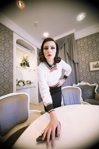 Elizabeth by Yukipozdeady (Bioshock Infinite Burial at sea) cosplay 4