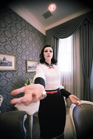 Elizabeth by Yukipozdeady (Bioshock Infinite Burial at sea) cosplay 8