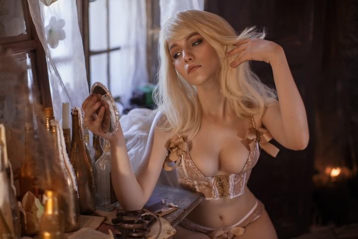 Keira Metz by Lyumos (Witcher 3) cosplay 3