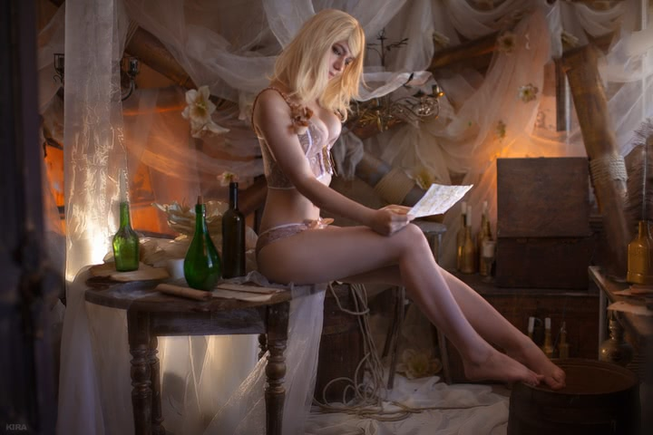 Keira Metz by Lyumos (Witcher 3) cosplay 6