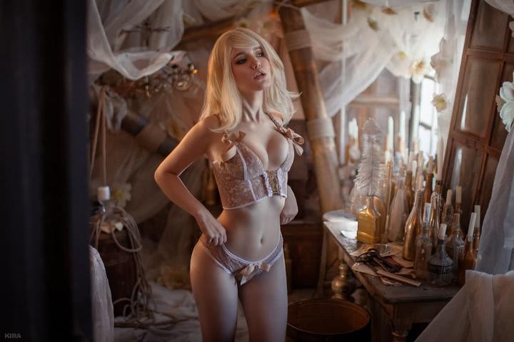 Keira Metz by Lyumos (Witcher 3) cosplay 14