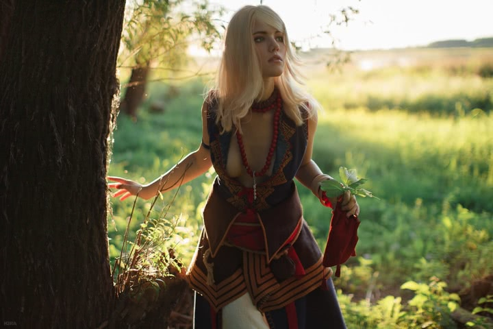 Keira Metz by Lyumos (Witcher 3) cosplay 15