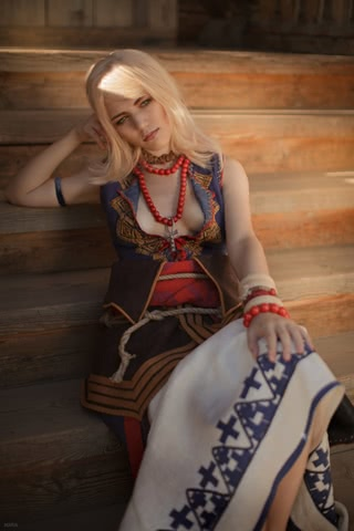 Keira Metz by Lyumos (Witcher 3) cosplay 22