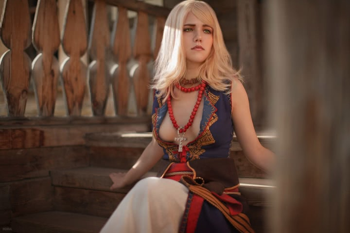 Keira Metz by Lyumos (Witcher 3) cosplay 24