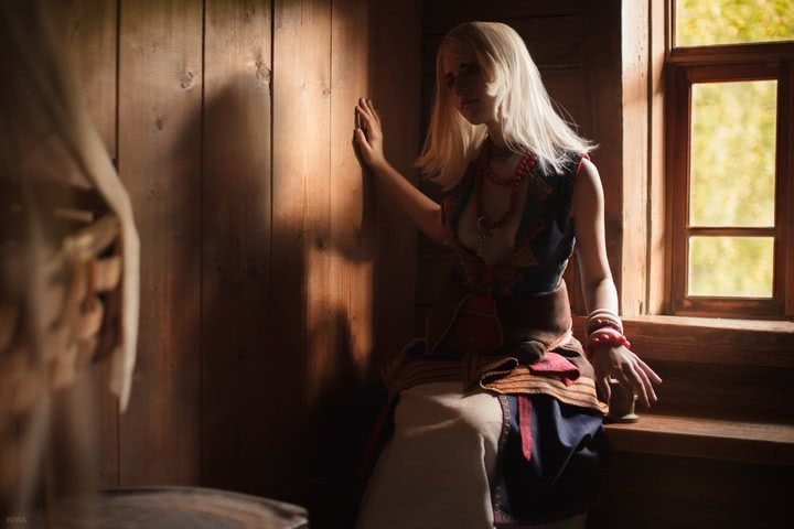Keira Metz by Lyumos (Witcher 3) cosplay 30