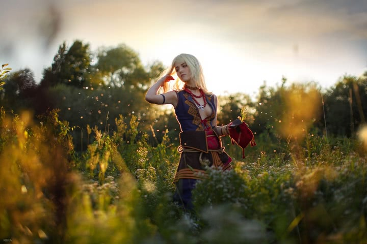 Keira Metz by Lyumos (Witcher 3) cosplay 32