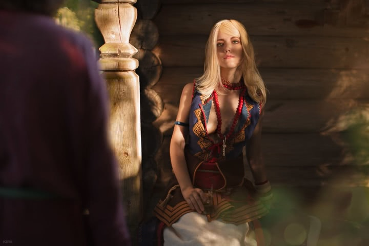 Keira Metz by Lyumos (Witcher 3) cosplay 34