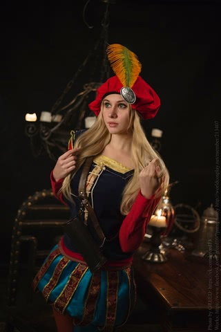 Priscilla cosplay (The witcher 3) by Ainen 4