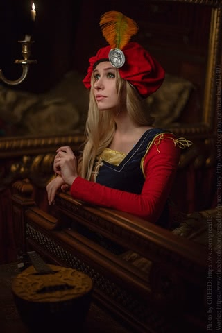 Priscilla cosplay (The witcher 3) by Ainen 5