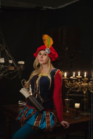 Priscilla cosplay (The witcher 3) by Ainen 6