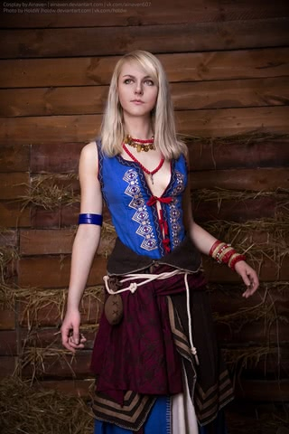 Keira cosplay (The witcher 3) by Ainaven 7