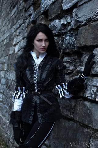 Yen cosplay (The witcher 3) by zoevoltsay 6