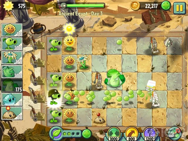 Plants vs Zombies 2 official screenshot 1