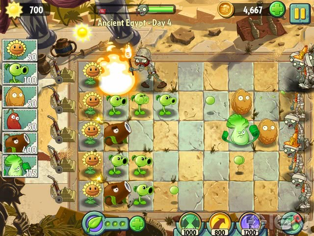 Plants vs Zombies 2 official screenshot 3