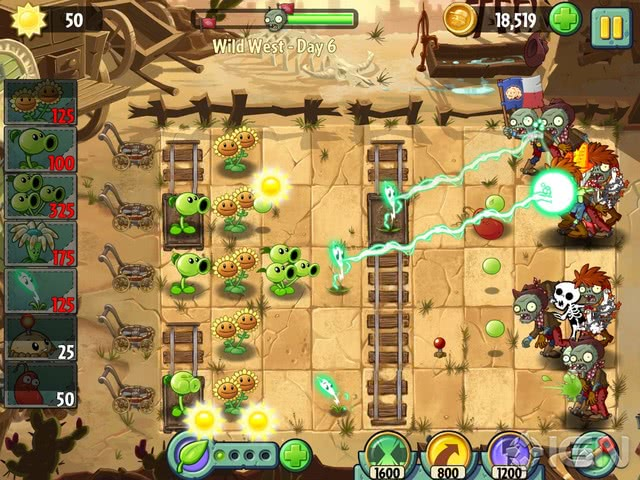 Plants vs Zombies 2 official screenshot 4