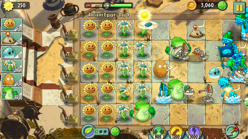Plants vs Zombies 2 official screenshot 5