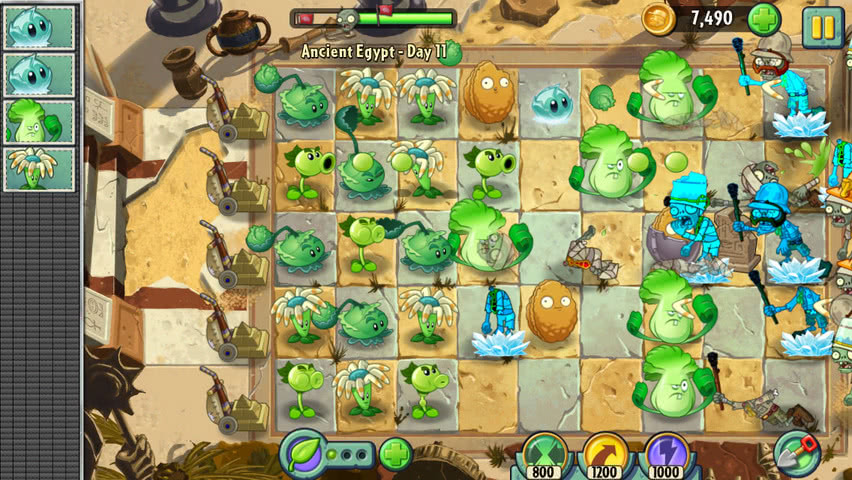 Plants vs Zombies 2 official screenshot 6