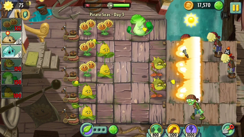 Plants vs Zombies 2 official screenshot 9