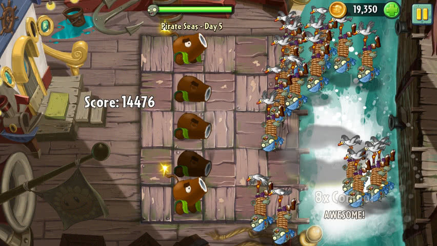 Plants vs Zombies 2 official screenshot 10