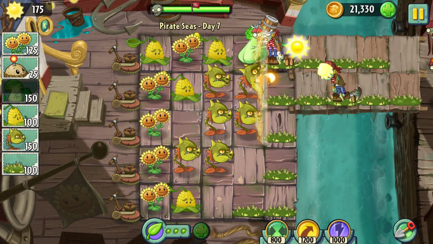 Plants vs Zombies 2 official screenshot 11