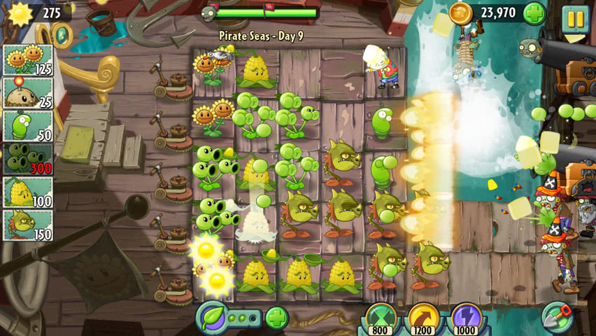 Plants vs Zombies 2 official screenshot 12